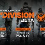 Otvorená beta pre The Division
