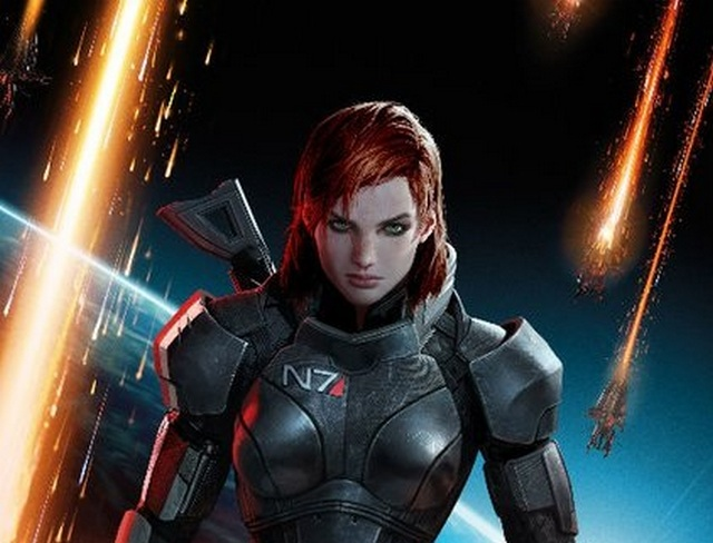 Mass Effect 3 - Shepardová
